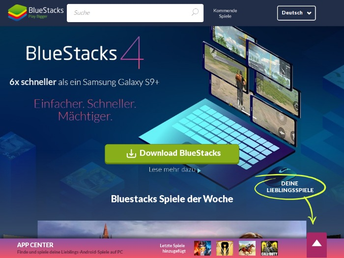 Bluestacks регистрация